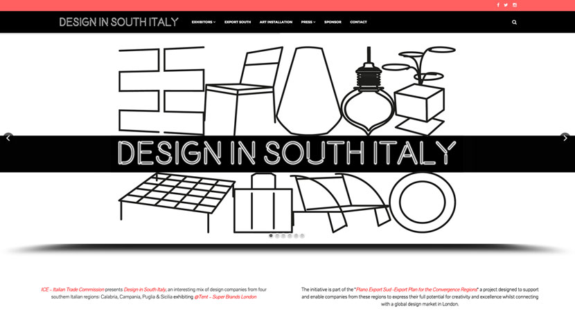 Design in South Italy