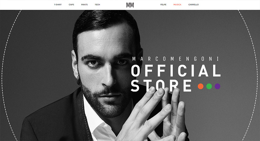 Marco Mengoni Official Store